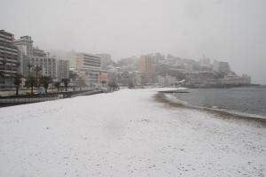 サンビーチ 雪 今井