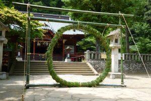 「夏越の大祓」 茅の輪くぐり @ 伊豆山神社
