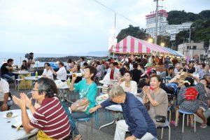伊豆山温泉さざえ祭り @ 伊豆山海岸