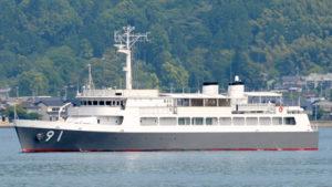海上自衛隊の特務艇「はしだて」一般公開 @ 熱海港ナナハン岸壁
